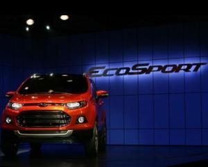Ford va investi 149 milioane de dolari in India, pentru a produce modelul Eco Sport