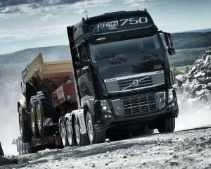 Volvo a lasat camionul de 750 de cai putere