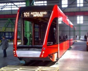 Primul tramvai romanesc construit in colaborare cu Siemens