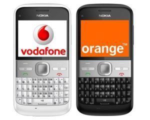 Guvernul a prelungit licentele Vodafone si Orange cu un an