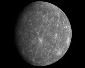 O sonda spatiala a NASA face prima poza cu Mercur, de pe orbita