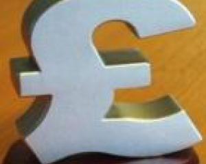 RECORD: Lira sterlina - la cel mai ridicat curs din ultimii patru ani fata de euro