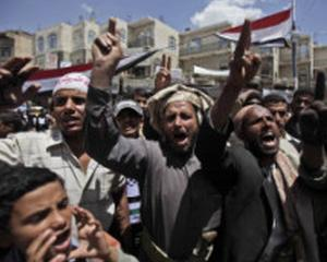 Opozitia din Yemen respinge oferta presedintelui Ali Abdullah Saleh