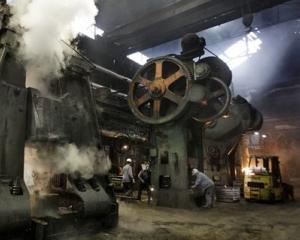 Eurostat: Romania se situeaza pe locul 10 in privinta cresterii productiei industriale in luna iulie