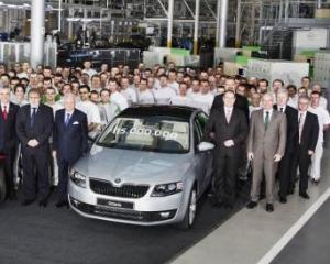 Skoda a construit automobilul cu numarul 15.000.000