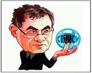 Analizele Manager.ro: Nouriel Roubini. Afacerile ii merg bine, prognozele economice mai putin
