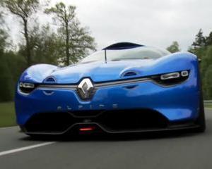 Batman revine: Renault ALPINE va fi lansat in 2015