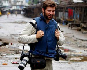 Ultimele poze facute de fotograful Chris Hondros, ucis in Misrata, Libia