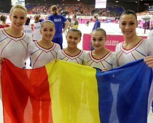 Medalia de bronz pentru echipa de gimnastica a Romaniei la Jocurile Olimpice de la Londra, 2012