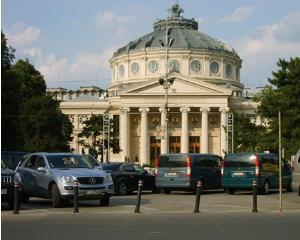 Vodafone lanseaza serviciul de plata a parcarii prin SMS. Momentan numai in Bucuresti, in parcarea din fata Ateneului Roman
