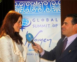 Femei in Afaceri a reprezentat Romania  la Global Summit of Women 2012