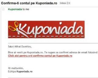 Romanii au economisit in ianuarie 1 milion de euro cu ajutorul siteurilor de chilipiruri gen Kuponiada