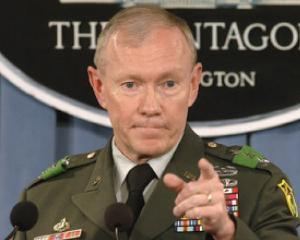 Seful de Stat Major al armatei americane pentru prima data in Irak dupa retragerea trupelor