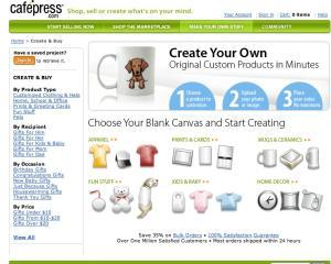 CafePress, oferta publica initiala de 80 de milioane de dolari
