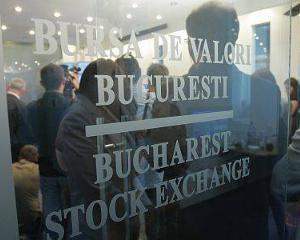 Bursa de la Bucuresti este pe val