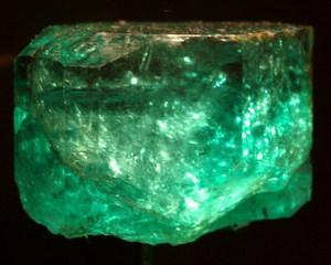 Smarald de 11.000 de carate expus in Columbia