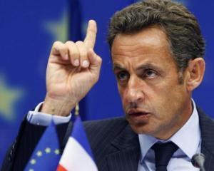 Nicolas Sarkozy: Criza poate fi depasita