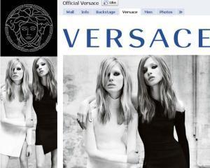 Versace a sters mesajele fanilor de pe Facebook. 500.000 de utilizatori, fata-n fata cu cenzura de brand