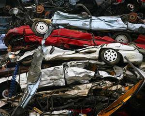 Piata auto a avut inca un an de comprimare: vanzarile de autoturisme au scazut cu 10,5%