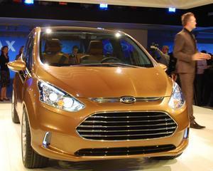 Ford a prezentat la Geneva B-Max, automobilul care va fi produs la Craiova