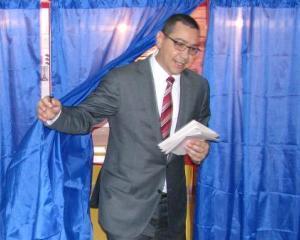 Victor Ponta, marcat de momentul