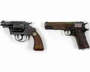 Armele cuplului criminal Bonnie si Clyde sunt de vanzare