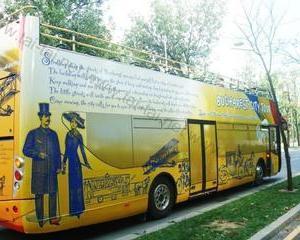 Greierele, furnica si autobuzele turistice din Bucuresti