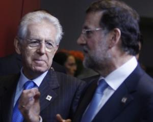 Orbul, ingrijorat de soarta surdului - Mario Monti: Da, suntem ingrijorati de Spania