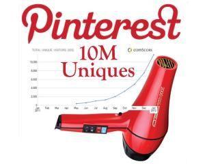 Pinterest, locul 3 in topul celor mai populare retele de socializare