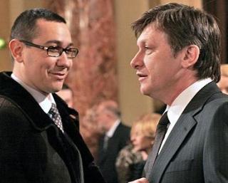 Ponta si Antonescu ii arata usa lui Basescu: Sa-si dea demisia daca nu intram in Schengen