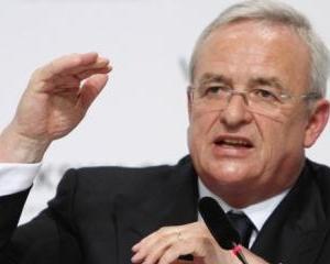 Seful Volkswagen, Martin Winterkorn, a cerut un salariu MAI MIC pentru activitatea desfasurata in 2012