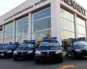 Politia din Cairo a primit 500 de masini Renault Logan