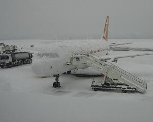 Aeroportul Otopeni este pregatit de iarna