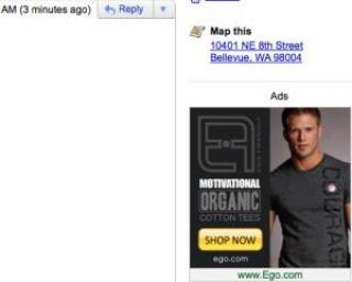 Google ne va enerva cu reclame imagine in Gmail