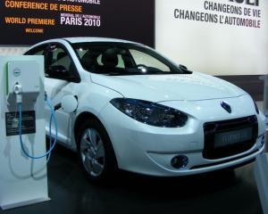 Renault a adus in Romania, pentru teste, primele modele electrice din gama ZE