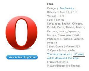 Opera, primul browser