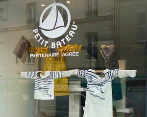 Primul magazin din Romania al Petit Bateau, firma care a inventat chilotul, se deschide miercuri