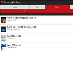 Magazinul virtual de aplicatii Opera Mobile Store s-a lansat cu de toate pentru toti