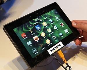 Tableta AMAZON KINDLE FIRE costa circa 1.100 lei la magazinele online romanesti