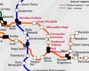 Statiile de metrou din Bucuresti vor purta numele unor fotbalisti celebri in perioada finalei Europa League 2012