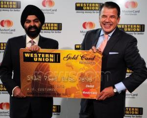 MasterCard si Western Union se asociaza pentru a oferi solutii electronice de plata mai eficiente