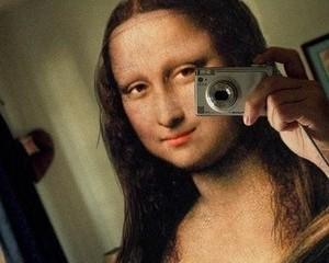 Mona Lisa, natura vie si digitala cu malai palpabil