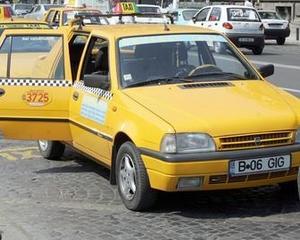 Taximetristi au protestat pentru majorarea tarifelor