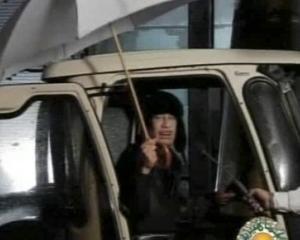 Gadhafi: Sunt in Tripoli, nu in Venezuela
