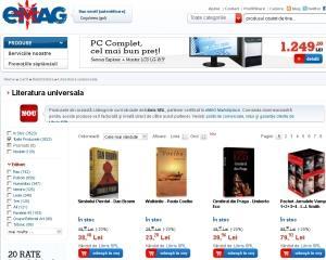 eMAG intra pe piata vanzarii online de carte