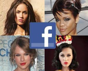 Vedetele cu cele mai multe like-uri pe Facebook