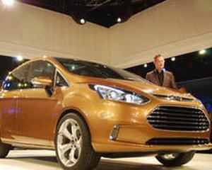 Ford B-Max, produs la Craiova, in finala Car of the Year 2013