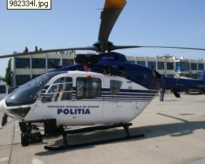 Persoanele sau firmele ar putea inchiria avioanele si elicopterele politiei
