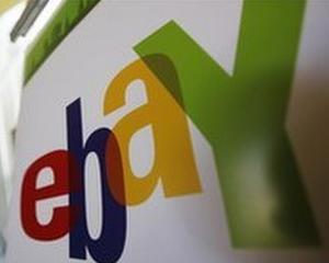 Actiunile eBay au crescut, dupa ce gigantul a inregistrat vanzari mai mari cu 18%