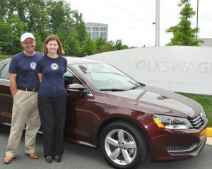 Un cuplu de americani a mers 2.574 de km cu un Volkswagen Passat TDI fara sa realimenteze